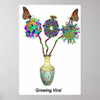 Crecimiento viral posters