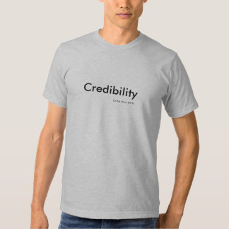 """""""Credibilidad"""", por la momia colectiva 2010. de Playera"""