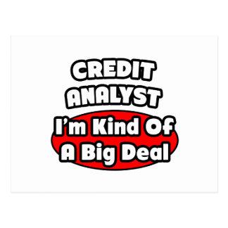 Credit Analyst ... Big Deal Postcard