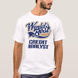 Credit Analyst Gift (Worlds Best) T-Shirt