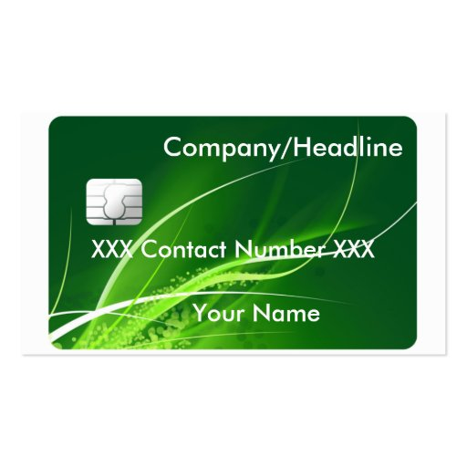 Credit card pack of standard business cards zazzle for Regions business credit card