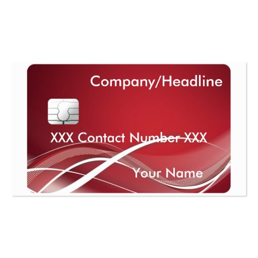 Credit Card Pack Standard Business Cards