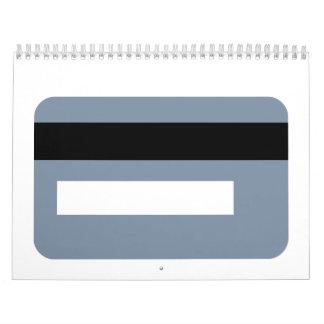 Credit card calendars