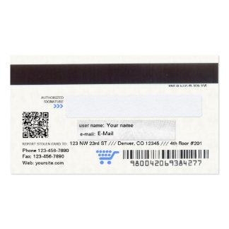 Credit Card design business card
