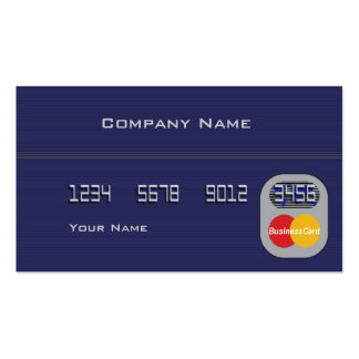 Credit Card Double-Sided Standard Business Cards (Pack Of 100)