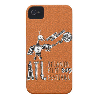 Credit Card-holding iPhone4 Case -Robot Movie Bird