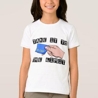 Credit Card Limit T-Shirt