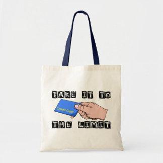 Credit Card Limit Tote Bag