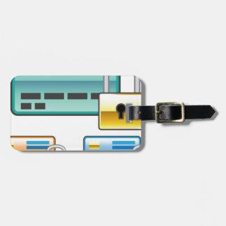 Credit Card Lock debit ATM card Bag Tag