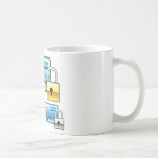 Credit Card Lock debit ATM card Coffee Mug