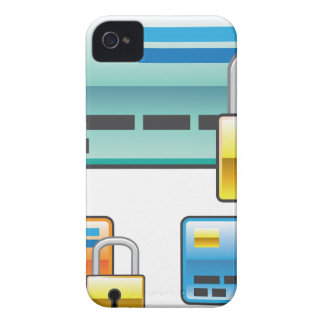 Credit Card Lock debit ATM card iPhone 4 Cover