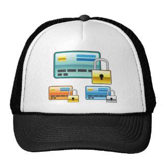 Credit Card Lock debit ATM card Trucker Hat