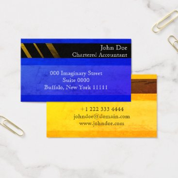 """Professional Business """"Credit Card Style Business Card No.11"""""""