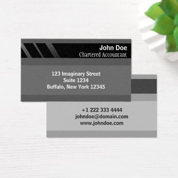 """Professional Business """"Credit Card Style Business Card No.12"""""""
