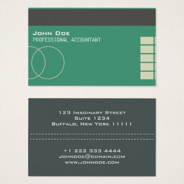"Professional Business ""Credit Card Style Business Card No.18"""