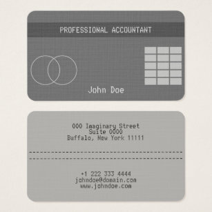 Credit card business cards templates zazzle credit card style business card no19 colourmoves
