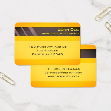 """Professional Business """"Credit Card Style Business Card No.3"""""""
