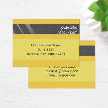 """Professional Business """"Credit Card Style Business Card No.4"""""""