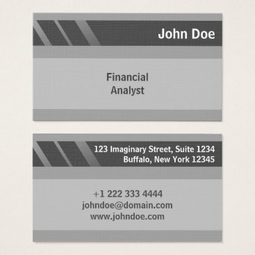 "Professional Business ""Credit Card Style Business Card No.8"""