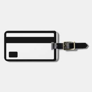 Credit Card Symbol Bag Tag