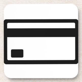 Credit Card Symbol Coaster