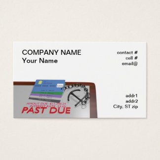 Credit counselor business card