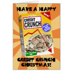 Credit Crunch Christmas card