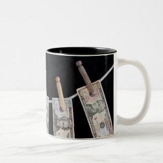 Credit Line Two-Tone Coffee Mug