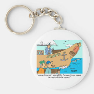 CREDIT UNION / FINANCIAL / BANKING investing gifts Keychain
