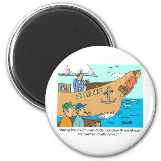 CREDIT UNION / FINANCIAL / BANKING investing gifts Magnet