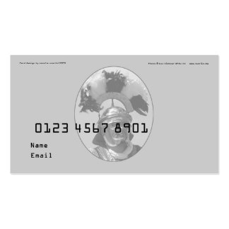 Creditcard Double-Sided Standard Business Cards (Pack Of 100)