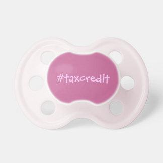 Crédito fiscal de Hashtag Chupete De Bebé