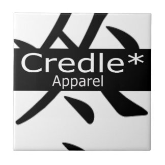 Credle Apparel Symbol Shirt Ceramic Tile