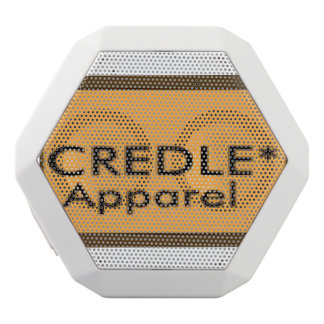 Credle boombox stereo white bluetooth speaker