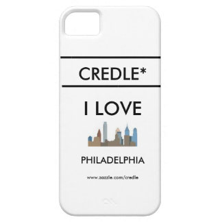 Credle Iphone 5/5sI LOVE PHILADELPHIA case iPhone 5 Covers