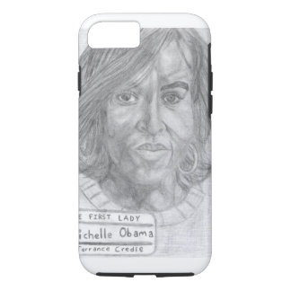 Credle iPhone 7 Michelle Obama tough Case