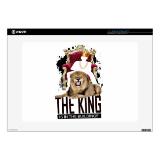 "Credle: King In The Building Decal For 15"" Laptop"