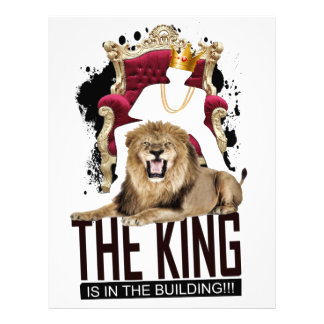 Credle: King In The Building Letterhead