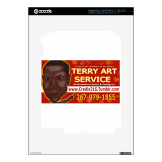 Credle Products featuring  Terry Art Service iPad 3 Decals