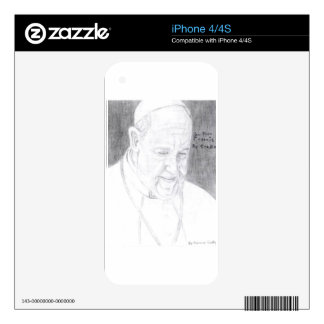 Credle's Pope Francis Products Decal For The iPhone 4S
