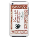Credo 1960 del americano de Benjamin Franklin iPod Touch Fundas