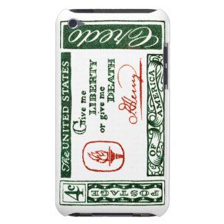 Credo 1961 del americano de Patrick Henry iPod Touch Fundas