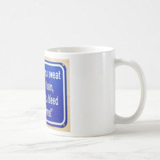 Credo de la academia taza
