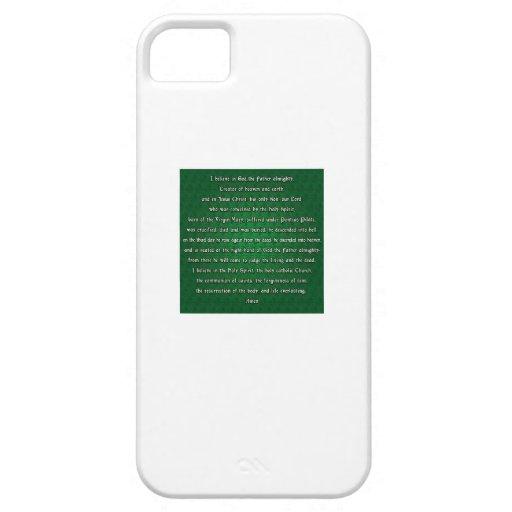 Credo de los apóstoles iPhone 5 carcasa