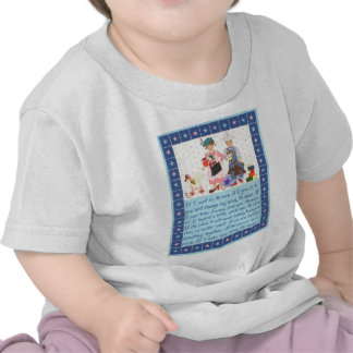 Credo de los niños camisetas