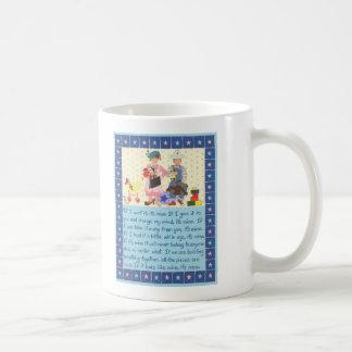 Credo de los niños tazas de café