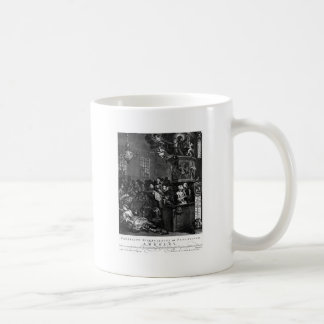 Credulity, Superstition, and Fanaticism by William Classic White Coffee Mug