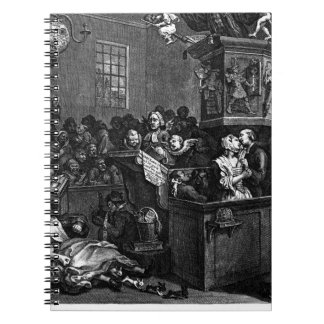 Credulity, Superstition, and Fanaticism by William Spiral Notebook