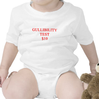 crédulo traje de bebé