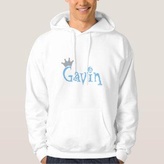 Cree - a Gavin para requisitos particulares Suéter Con Capucha